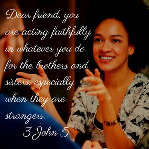 Are You Acting Faithfully?
