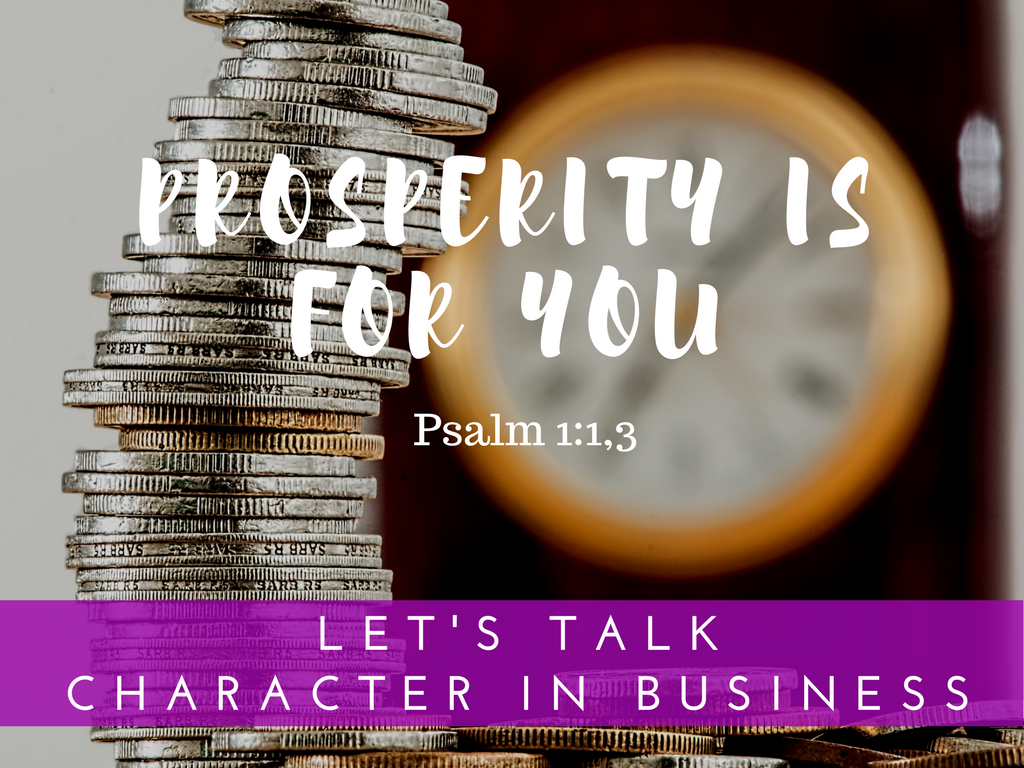 Prosperity is for You