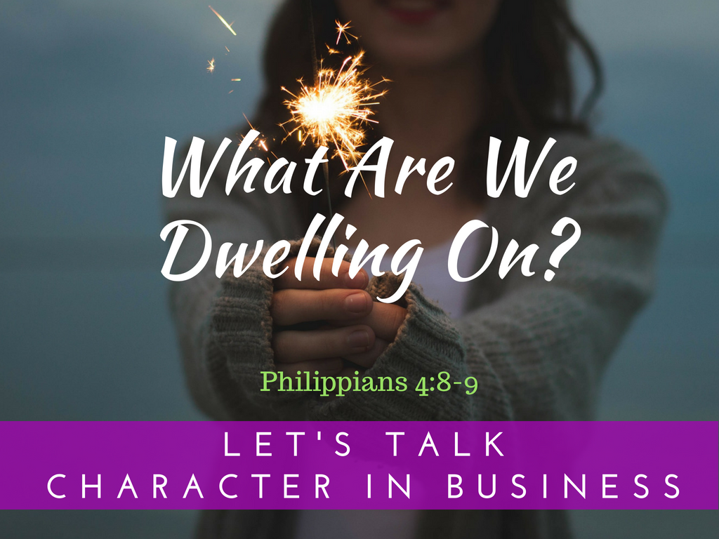 What Are We Dwelling On?