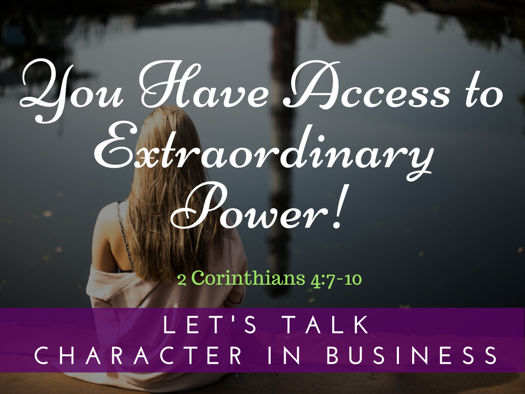 Accessing Extraordinary Power
