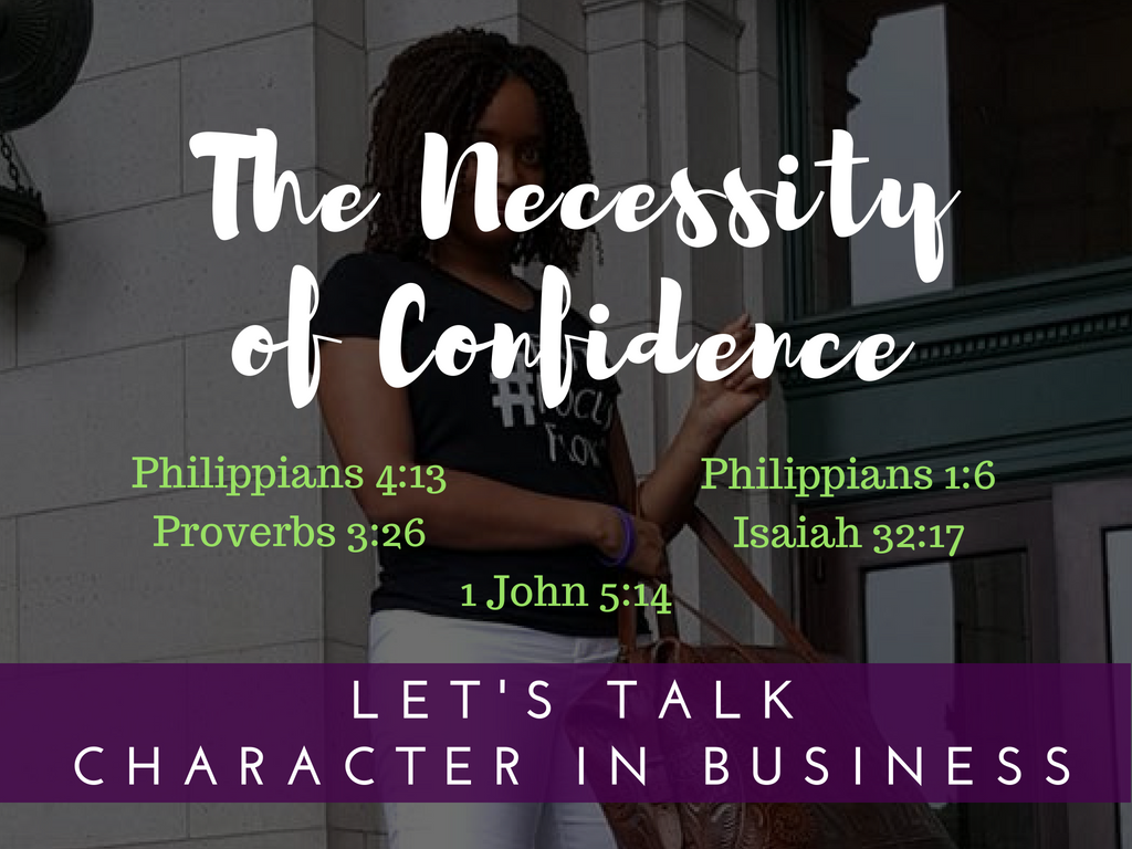 The Necessity of Confidence