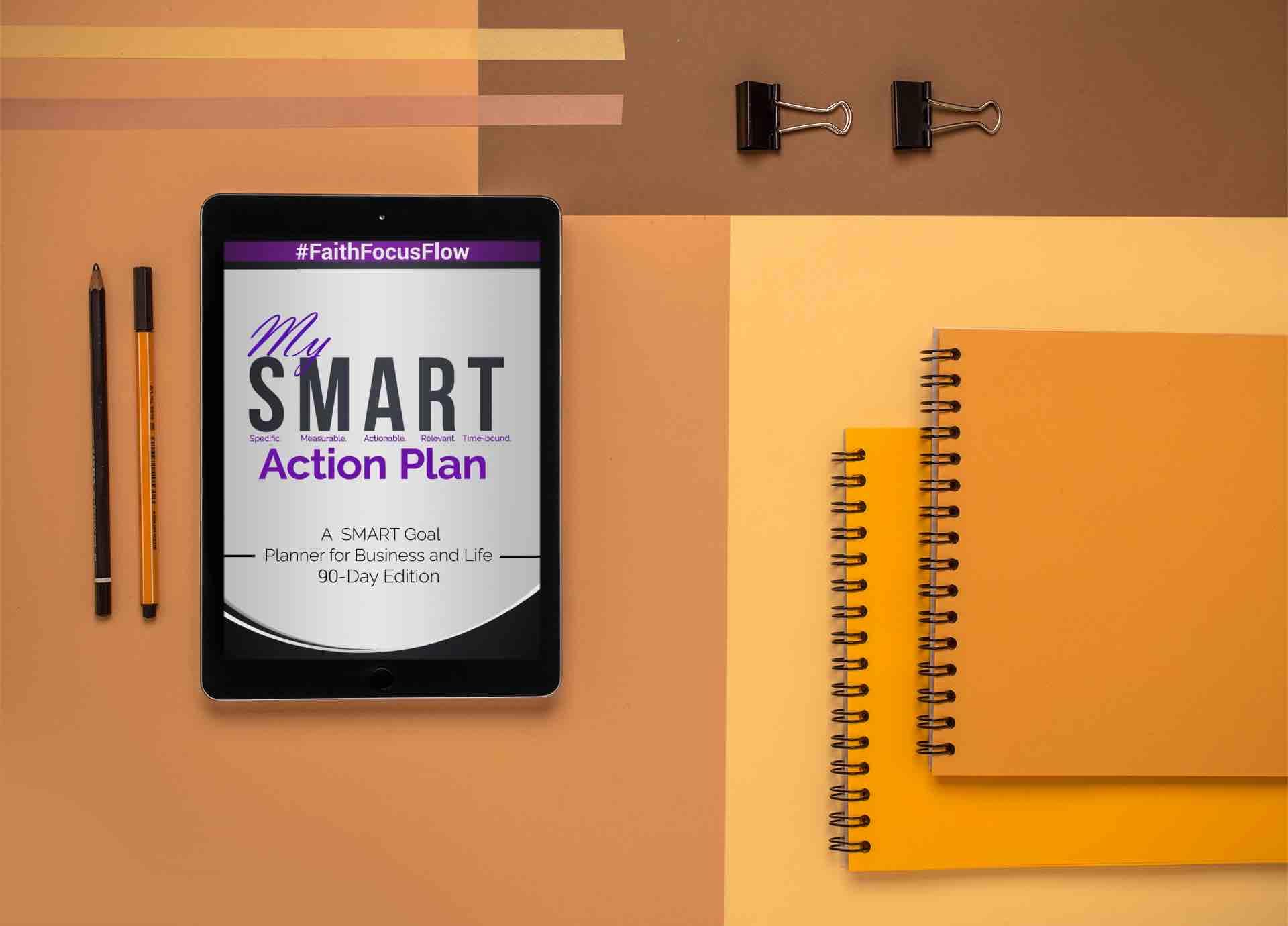 30 Day SMART Goal Action Planner - Digital Download